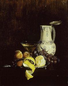 Daisy Linda Ward (née Travers) (1883 - 1937) Still Life with Fruit oil on canvas; 34 x 45 cm Ashmolean Museum, A523