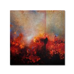 Cody Hooper 'Red Earth' Canvas Art | Overstock.com Shopping - Top Rated Trademark Fine Art Canvas