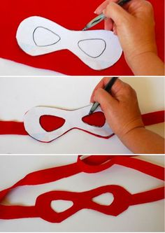 disfraz infantil casero tortuga ninja mascara: