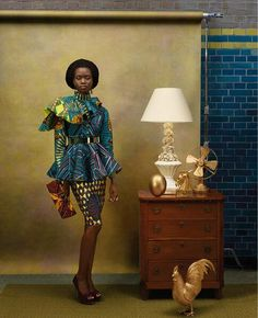 I And Africa | Vlisco's Hommaga À L'Art Collection