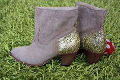 CATCAT ET SON DRESSING  Boots glitter