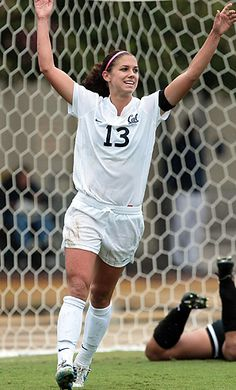 Lu's favorite player from the US Women's soccer team - Alex Morgan