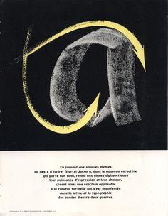 in Supplément à La France Graphique, décembre 1951. Jacno, par Marcel Jacno, publié par Deberny & Peignot