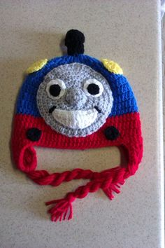i know this is not knitted, but my little nephew loves Thomas the train, I've gotta make this for him!