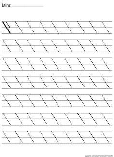 Pre-Writing Line Tracing Workbook Nursery Worksheets, Alphabet Tracing Worksheets, Printable Preschool Worksheets, Kindergarten Math Worksheets, Preschool Writing, Numbers Preschool, Preschool Learning Activities, Pre Writing, Pre School