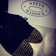 @kellyjones_ - Steve Madden JAZZHAN #spikes #studs #shoes
