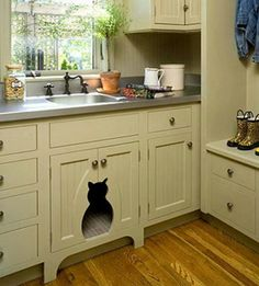 The perfect mud room.