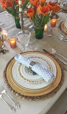 Start pulling out some inspiration for Thanksgiving table early in the week…
