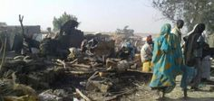 The bombing struck a government-run camp in Rann, near the Cameroonian and Chadian borders, an area where Boko Haram had recently increased attacks. Air Force Fighter Jets, Boko Haram, Without Borders, Latest World News, Insurgent, Red Cross, Ny Times, Military, Scores