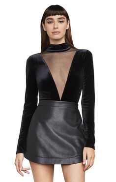Shop BCBG's selection of tops for women. Browse a variety of shirts for women, including designer tops, chic tops and more to find the right styles for you. High Neck Dress, Bodysuit, Velvet, Chic, Shirts, Shopping, Instagram, Tops, Dresses