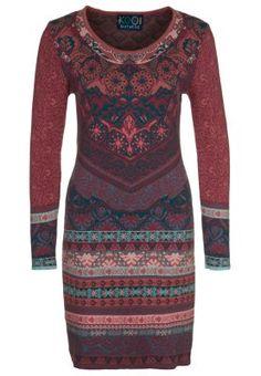 KOOI - Gebreide jurk - Rood