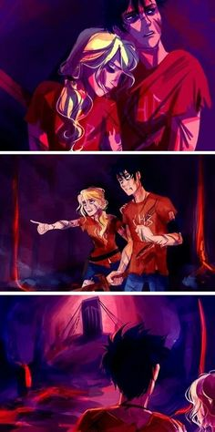 Image result for percy and annabeth death mist