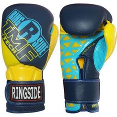 Ringside Youth IMF Tech Sparring Gloves, Yellow