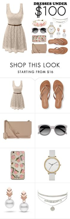 """""""Dress under 100"""" by zarared ❤ liked on Polyvore featuring LE3NO, Aéropostale, Vivienne Westwood, Ace, Skagen, Escalier, Forever 21, cute, Beauty and under100"""