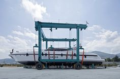 #PortoMirabello #shipyard for #superyachts up to 160t photo F.Salvadori