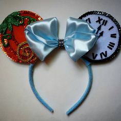 Check out this item in my Etsy shop https://www.etsy.com/listing/214074704/custom-mouse-ears-cinderella
