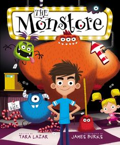 THE MONSTORE Cover Reveal & Monster of a Contest