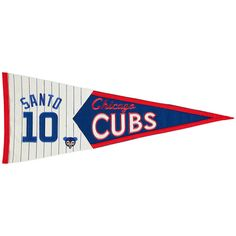 Ron Santo Chicago Cubs Hall of Fame Legends Pennant - $35.99