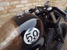 Honda VT 600 bobber custom Voodoo custom cycles book your build | eBay
