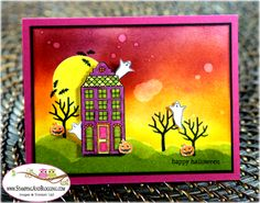 Holiday Home Halloween by SandiMac - Cards and Paper Crafts at Splitcoaststampers
