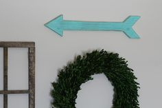 Rustic Wooden Arrow Wooden Arrow Sign Rustic by DunnRusticDesigns