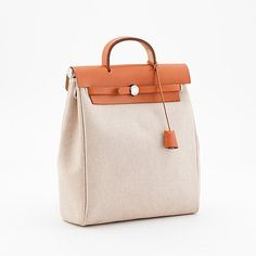 Hermes Bags, Luxury Bags, Bucket Bag, Purses And Bags, Jewelry Accessories, Lunch, Handbags, Canvas, Outfit