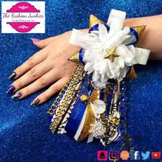 Custom made wrist mums at TfjByCei.com nationwide shipping available. Visit us online for more social media platforms
