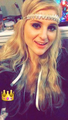 Follow Meghan Trainor on Snapchat: mtrainor22.