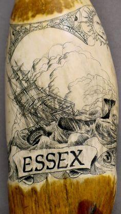 Scrimshaw of The Essex.