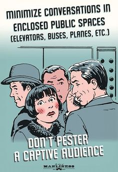 Cell Phone Etiquette Explained By Propaganda Posters