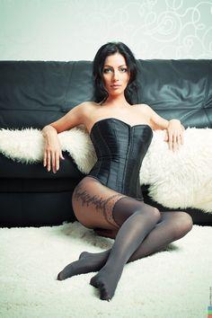 corset & stockings via: We Like The Weird Stuff on Tumblr