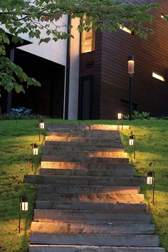 10 Easy Pieces Pathway Lighting Landscape Pinterest Outdoor Path Cor Ten And Lights
