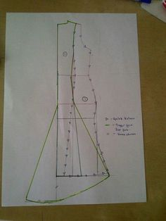 Diy dress skirt pattern making Sewing Hacks, Sewing Tutorials, Sewing Projects, Techniques Couture, Sewing Techniques, Pattern Cutting, Pattern Making, Dress Sewing Patterns, Clothing Patterns