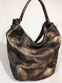 ALL SAINTS - handmade in Italy leather cross-body in Dark Brown                      – IXXI BRAND