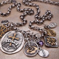 Waxing Poetic Charm Herald Insignia from @Layla Grayce #laylagrayce #charms #jewelry