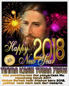 ✿*´¨)*With My Heart  ¸.•*¸.• ✿´¨).• ✿¨) (¸.•´*(¸.•´*(.✿ GOOD BYE 2017...GBU ~  2 Korintus 5:17 (TB)  Jadi siapa yang ada di dalam Kristus, ia adalah ciptaan baru: yang lama sudah berlalu, sesungguhnya yang baru sudah datang.