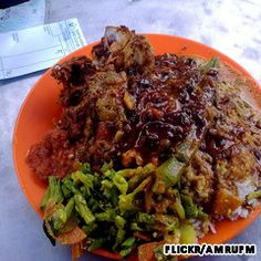 Nasi kandar, Line Clear, Alley next to 177, Jalan Penang, Penang