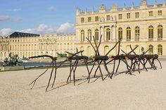La controversia del arte contemporáneo en el Palacio de Versalles