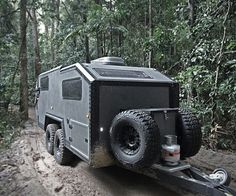 Bruder manufacture revolutionary off road expedition trailers for the modern adventurer. Their EXP-6 Expedition Trailer merges rugged capability with luxury, and features all the comforts of home packed into an off-road capable platform. Its overbuil