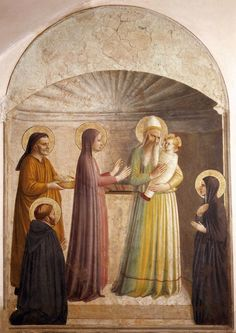 Fra Angelico (Italian1387-1455) Presentation of Jesus in the Temple.