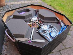 Quadcopter storage/transporation box - DIY Drones