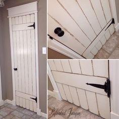 Bedroom doors 28 Likes, 1 Comments - Laura Diy Barn Door, Diy Door, Barn Doors, Rustic Closet, Closet Doors, Pantry Doors, Kitchen Doors, Kitchen Cabinets, Hollow Core Doors