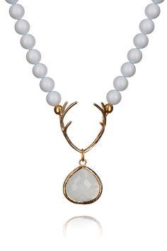 Hirschfänger, bleu made with Swarovski® Pearls