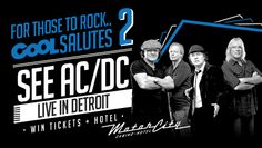 Win a pair of tickets to AC/DC in Detroit!