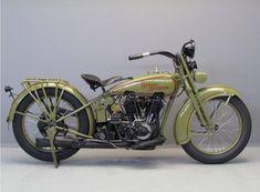 Harley Davidson 1925 25JDCB 2 cyl 1200 cc ioe