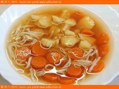Liptovská kyslá (zo šťavy z kyslej kapusty) - Sefkuchari. Chili, Soup, Basket, Chile, Soups, Chilis