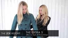 Style a Burberry trench by Rachel Zoe