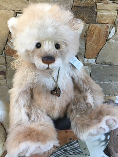 Beautiful Charlie Bears Rebus Isabelle Lee Limited Edition Mohair Dolls & Bears