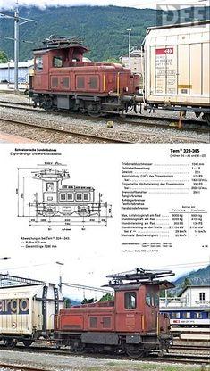 SBB TemIII 348 (Foto: Archiv Arthur Meyer) Swiss Railways, Trains, Pictures, Model Train, Archive, Train