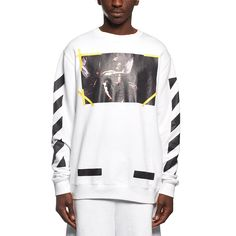 7 Opere sweatshirt from the F/W2016-17 Off-White c/o Virgil Abloh collection in white